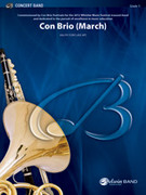 Cover icon of Con Brio sheet music for concert band (full score) by Ralph Ford, easy/intermediate skill level