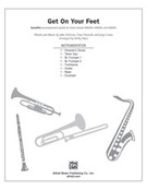 Cover icon of Get On Your Feet sheet music for Choral Pax (full score) by John DeFaria and Kirby Shaw, easy/intermediate skill level