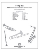 Cover icon of I Sing Out (COMPLETE) sheet music for Choral Pax by Mark Hayes, easy/intermediate