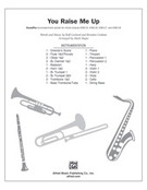Cover icon of You Raise Me Up (COMPLETE) sheet music for Choral Pax by Rolf Lovland, Brendan Graham and Mark Hayes, classical wedding score, easy/intermediate Choral Pax
