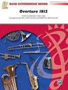 Cover icon of Overture 1812 sheet music for concert band (full score) by Pyotr Ilyich Tchaikovsky, Pyotr Ilyich Tchaikovsky and Robert W. Smith, classical score, easy skill level