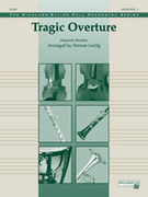 Cover icon of Tragic Overture sheet music for full orchestra (full score) by Johannes Brahms and Vernon Leidig