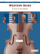 Cover icon of Western Skies (COMPLETE) sheet music for string orchestra by Susan H. Day, easy/intermediate skill level