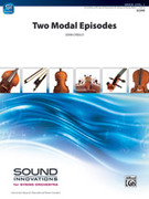 Cover icon of Two Modal Episodes sheet music for string orchestra (full score) by John O'Reilly