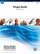 Cover icon of Finger Rock! sheet music for string orchestra (full score) by Bob Phillips