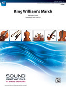 Cover icon of King William's March sheet music for string orchestra (full score) by Jeremiah Clarke and Bob Phillips