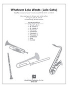 Cover icon of Whatever Lola Wants sheet music for Choral Pax (full score) by Richard Adler and Jerry Ross, easy/intermediate skill level