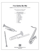 Cover icon of I've Gotta Be Me (COMPLETE) sheet music for Choral Pax by Walter Marks and Larry Shackley