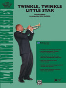 Cover icon of Twinkle, Twinkle Little Star sheet music for jazz band (full score) by Anonymous, easy