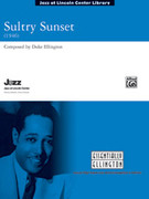 Cover icon of Sultry Sunset (COMPLETE) sheet music for jazz band by Duke Ellington
