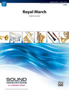 Cover icon of Royal March sheet music for concert band (full score) by Robert Sheldon, beginner skill level