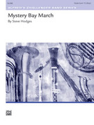 Cover icon of Mystery Bay March sheet music for concert band (full score) by Steve Hodges