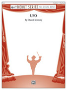 Cover icon of UFO sheet music for concert band (full score) by Edward Kennedy