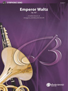 Cover icon of Emperor Waltz, Op. 437 (COMPLETE) sheet music for concert band by Johann Strauss and Jack Bullock