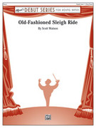 Cover icon of Old-Fashioned Sleigh Ride sheet music for concert band (full score) by Scott Watson