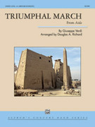 Cover icon of Triumphal March (COMPLETE) sheet music for concert band by Giuseppe Verdi