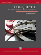 Cover icon of Conquest 1 sheet music for concert band (full score) by Kenneth Lampl