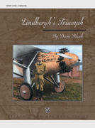 Cover icon of Lindbergh's Triumph (COMPLETE) sheet music for concert band by Dave Black