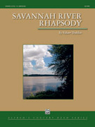 Cover icon of Savannah River Rhapsody sheet music for concert band (full score) by Robert Sheldon, intermediate