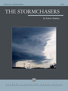 Cover icon of The Stormchasers sheet music for concert band (full score) by Robert Sheldon