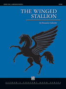 Cover icon of The Winged Stallion (COMPLETE) sheet music for concert band by Rossano Galante