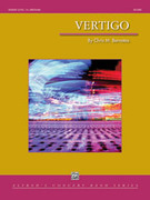 Cover icon of Vertigo sheet music for concert band (full score) by Chris M. Bernotas