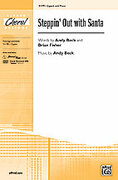 Cover icon of Steppin' Out with Santa sheet music for choir (2-Part) by Andy Beck
