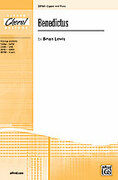 Cover icon of Benedictus sheet music for choir (2-Part) by Brian Lewis, intermediate