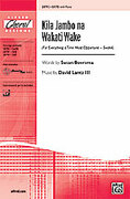 Cover icon of Kila Jambo na Wakati Wake (For Everything a Time Most Opportune - Swahili) sheet music for choir (SATB) by David Lanz, Susan Boersma and David Lanz