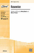 Cover icon of Razzamatazz sheet music for choir (2-Part) by Andy Beck and Brian Fisher, intermediate choir (2-Part)