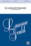 Cover icon of En Natus Est Emanuel sheet music for choir and piano (SATB) by Matthew Armstrong