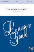 Cover icon of The Winter's Night sheet music for choir (SSAA: soprano, alto) by Nicholas Myers, intermediate skill level