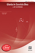 Cover icon of Gloria in Excelsis Deo sheet music for choir (SATB, a cappella) by Jay Althouse