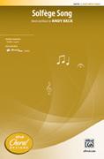Cover icon of Solfege Song sheet music for choir (2-Part) by Andy Beck