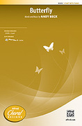 Cover icon of Butterfly sheet music for choir (2-Part) by Andy Beck