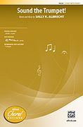 Cover icon of Sound the Trumpet! sheet music for choir (2-Part) by Sally K. Albrecht, intermediate skill level