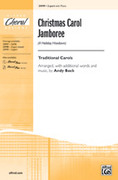 Cover icon of Christmas Carol Jamboree (A Holiday Hoedown) sheet music for choir (2-Part) by Anonymous and Andy Beck, intermediate choir (2-Part)
