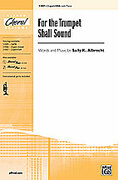 Cover icon of For the Trumpet Shall Sound sheet music for choir (2-Part / SSA) by Sally K. Albrecht