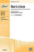 Cover icon of There Is a Season sheet music for choir (2-Part) by Greg Gilpin