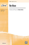 Cover icon of The Moon sheet music for choir (2-Part) by Andy Beck, intermediate skill level