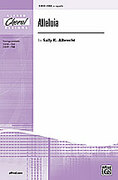 Cover icon of Alleluia sheet music for choir and piano (SSA, a cappella) by Sally K. Albrecht
