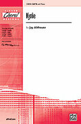 Cover icon of Kyrie sheet music for choir (SATB) by Jay Althouse