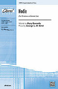 Cover icon of Hodie sheet music for choir and piano (3-Part Mixed) by George L.O. Strid