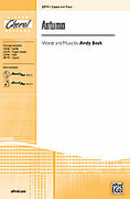 Cover icon of Autumn sheet music for choir (2-Part) by Andy Beck, intermediate