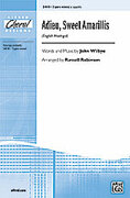 Cover icon of Adieu, Sweet Amarillis (English Madrigal) sheet music for choir (3-Part Mixed, a cappella) by John Wilbye