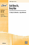 Cover icon of God Bless Us, Every One sheet music for choir (2-Part) by Sally K. Albrecht