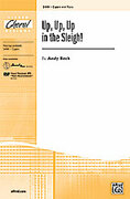 Cover icon of Up, Up, Up in the Sleigh! sheet music for choir (2-Part) by Andy Beck, intermediate skill level