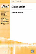 Cover icon of Cantate Domino sheet music for choir (2-Part/SSA) by Sally K. Albrecht