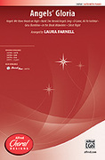 Cover icon of Angels' Gloria sheet music for choir (SATB) by Anonymous and Laura Farnell