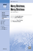Cover icon of Merry Christmas, Merry Christmas (from Home Alone 2) sheet music for choir (SAB) by John Williams, Leslie Bricusse, Tom Fettke and Thomas Grassi, intermediate